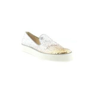 Stuart Weitzman Biarritz Women's Fashion Sneakers Penny Degrade Glitter