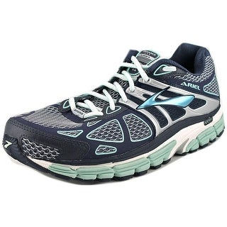 Brooks Ariel '14 Women D Round Toe Synthetic Blue Running Shoe