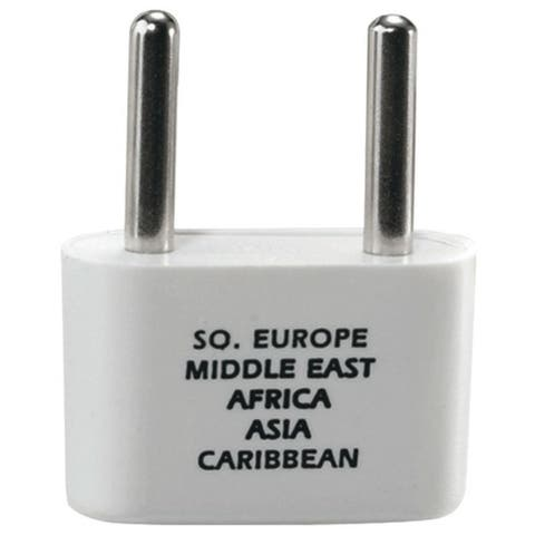 CONAIR NW1C Adapter Plug for Europe, Middle East, Parts of Africa & Caribbean