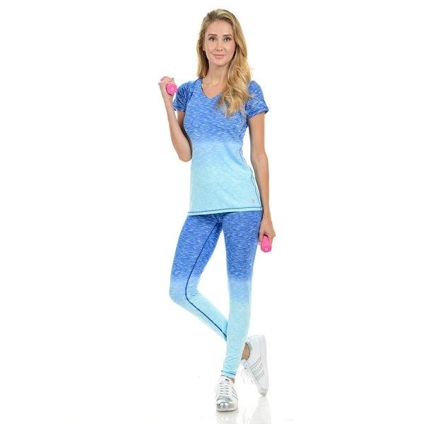 896052a86d228 Diamante Women's Power Flex Yoga Pants Leggings Sportswear - Style  C008B -