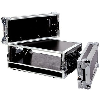 Fly Drive Case For 3U Space Standard Low Profile Dj 19-In Amplifier Or Effects Units Or Similarly Si