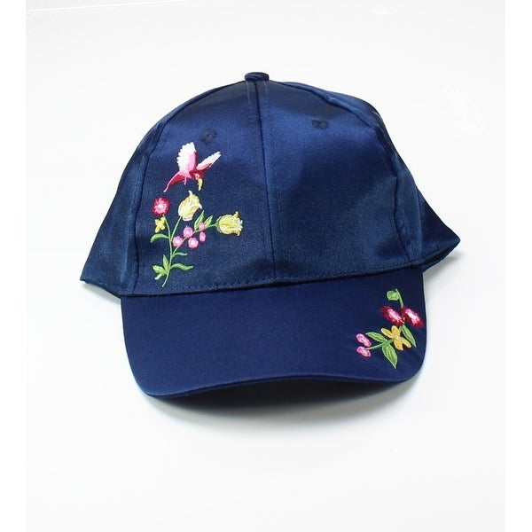 Shop NYC Underground Navy NEW Blue One Size Adjustable Embroidered Baseball  Cap 627 - Free Shipping On Orders Over  45 - Overstock.com - 20297744 6401de58ff7