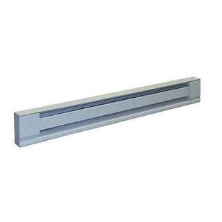 TPI Stainless Steel Heating Element Electric Baseboard Heater, 2-1/3'