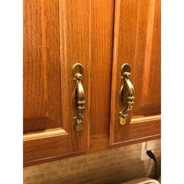 shop gliderite 3 cc oil rubbed bronze cabinet hardware twist pull pack of 10 or 25 free shipping on orders over 45 overstockcom 10400993 - Oil Rubbed Bronze Cabinet Hardware