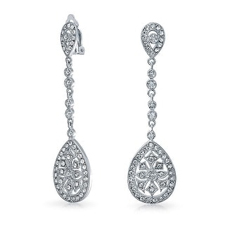 Clip On Cubic Zirconia Earrings Online At Our Best Deals