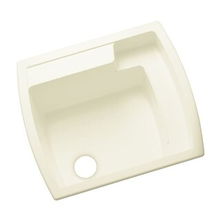 "Sterling 995 Latitude 25"" Single Basin Drop In or Undermount Acrylic Laundry Sink - N/A"