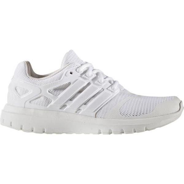 vergüenza clima Contratista  Shop adidas Women's Energy Cloud V 2-Tone Lenticular Mesh Running Shoe FTWR  White/FTWR White/Crystal White S16 - Overstock - 17917612