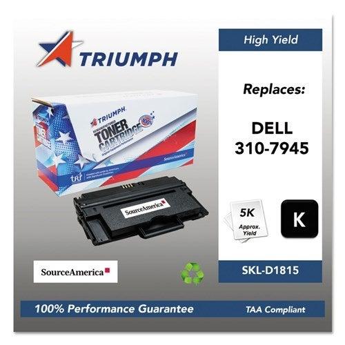 Triumph Remanufactured 1815DN Toner Cartridge - Black Toner Catridge