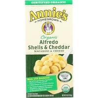Annie's Homegrown - Organic Alfredo Shells & Cheddar ( 12 - 6 OZ)
