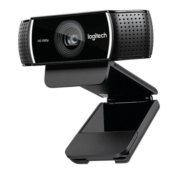 Logitech 960-001176 C922 Pro Stream Webcam - Background Replacement + Tripod