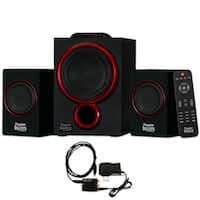 Theater Solutions TS212 Powered 2.1 Bluetooth Speaker System with Optical Input