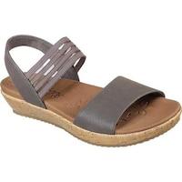 ac18107334eb Shop Skechers Women s Brie Lo Profile Ankle Strap Sandal Mauve ...