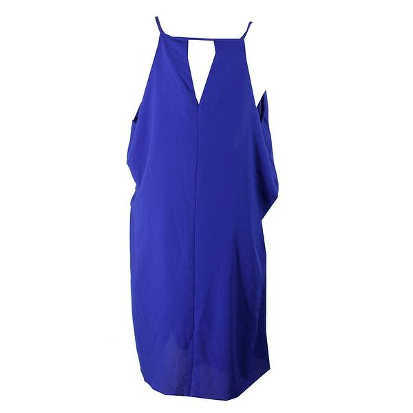 Shop City Chic Plus Size Cobalt Blue Waterfall Tunic Dress ...
