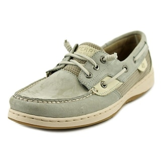 Sperry Top Sider Rose Fish Moc Toe Leather Boat Shoe