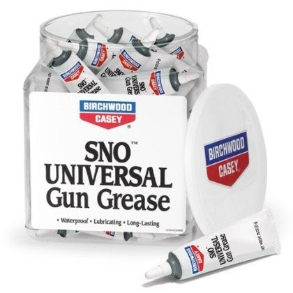 Birchwood Casey SNO Universal Gun Grease .50 oz net wt, Squeeze Tube