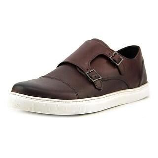 Crevo Lawless Men Leather Burgundy Fashion Sneakers