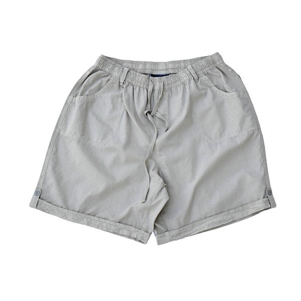 df118a64e1 Shop Karen Scott NEW Gray Women's 3X Plus Cuffed Flat Front Walking Shorts  - Free Shipping On Orders Over $45 - Overstock - 18367943