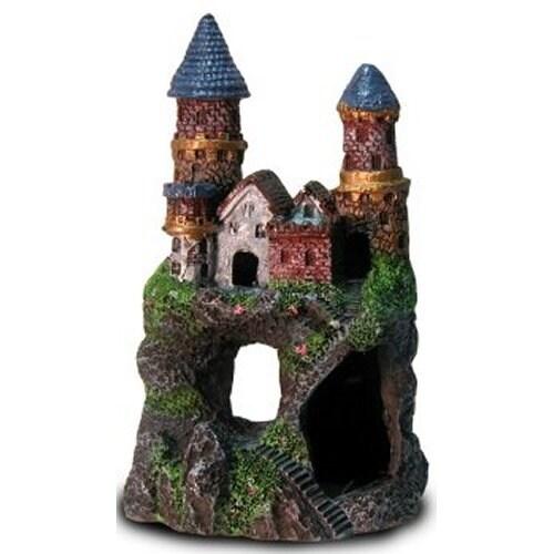 Shop Enchanted Castle Aquarium Decoration Free Shipping