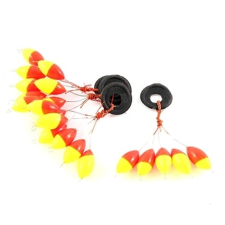 6 in 1 Beads Fishing Floaters Bobbers 17mm Long 4 Pcs