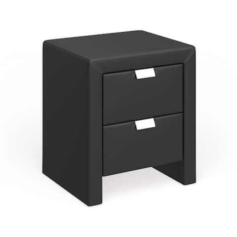 Porch & Den Fifth Terrace Upholstered Nightstand