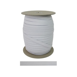"Pellon Knit Elastic 1/2""x 144yd White"