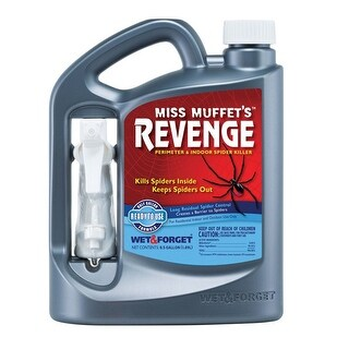 Wet & Forget 803064 Miss Muffet's Revenge Spider Killer Liquid 64 oz.