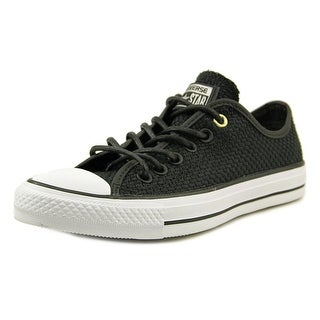 Converse Chuck Taylor All Star Oxford Women Round Toe Canvas Black Sneakers