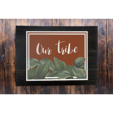 OUR TRIBE Outdoor Mat By Terri Ellis