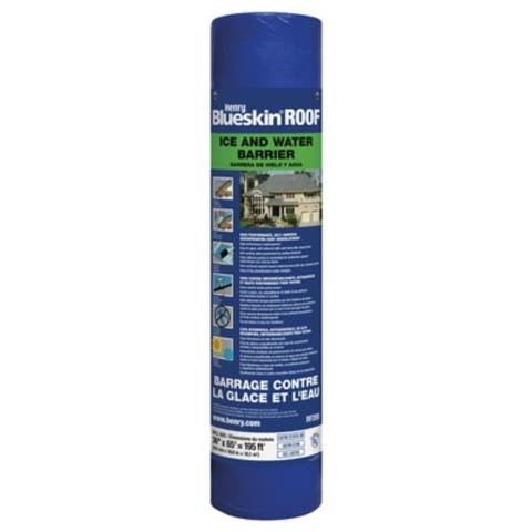 Henry HERF200916 Blueskin Self-Adhesive Ice & Water Barrier Roll, 3' x 65'