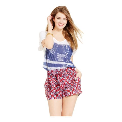 Jessica Simpson Womens Petra Soft Casual Mini Shorts
