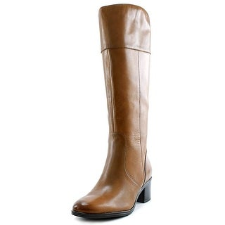 Naturalizer Harbor   Round Toe Leather  Knee High Boot