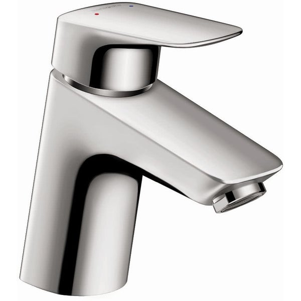 Hansgrohe 71078 Logis Single Hole Bathroom Faucet with EcoRight and ComfortZone Technologies - Chrome