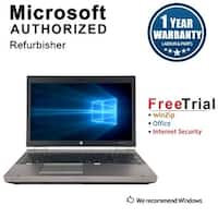 "Refurbished HP EliteBook 8570P 15.6"" Intel Core i5-3320M 2.60GHz 8GB DDR3 240GB SSD DVD Windows 10 Pro 64 Bits 1 Year Warranty"
