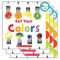 (3 Ea) Board Book Eat Your Colors Rookie Toddler