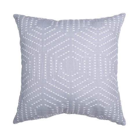 18x18 Dorris French Knot Embroidered Pillow