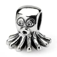 Sterling Silver Reflections Kids Octopus Bead (4mm Diameter Hole)