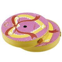 Unique Bargains Unique Bargains 2 Pcs Yellow Gold Tone Gift Package Ribbon Roll Tape