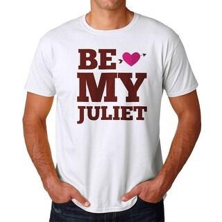 Tee Bangers Be My Juliet Men's White T-shirt
