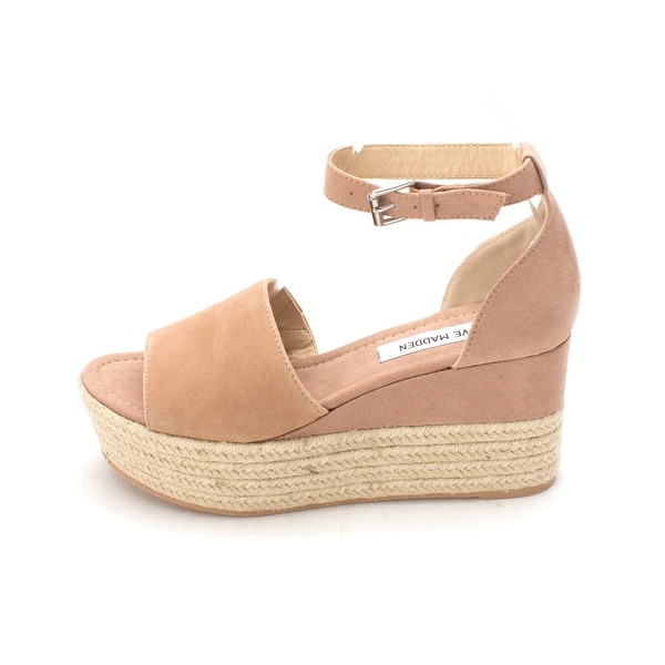 3db6f056ac8 Shop Steve Madden Womens Apolo Leather Open Toe Casual Espadrille ...