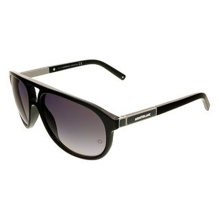 Montblanc MB456/S 01A Black Aviator Sunglasses