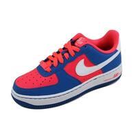 Nike Grade-School Air Force 1 Laser Crimson/White-Military Blue 596728-606 Size 4.5Y