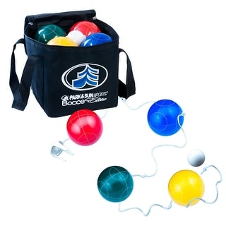 Link to Park and Sun Bocce Elite Pro Set BB-109 - black - 109 mm Similar Items in Camping & Hiking Gear