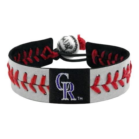 Colorado Rockies Bracelet Reflective Baseball