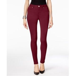 Link to I-N-C Womens Ponte Casual Leggings, red, 4 Similar Items in Pants
