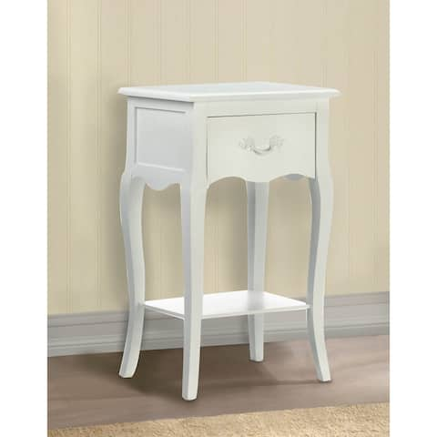 """Country Loft Accent Table 15.75""""x11.75""""x25.5"""""""