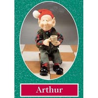 "10.5"" Zims The Elves Themselves Arthur Collectible Christmas Elf Figure - multi"