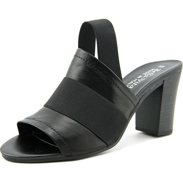 Bella Vita Sassari Women Black Sandals