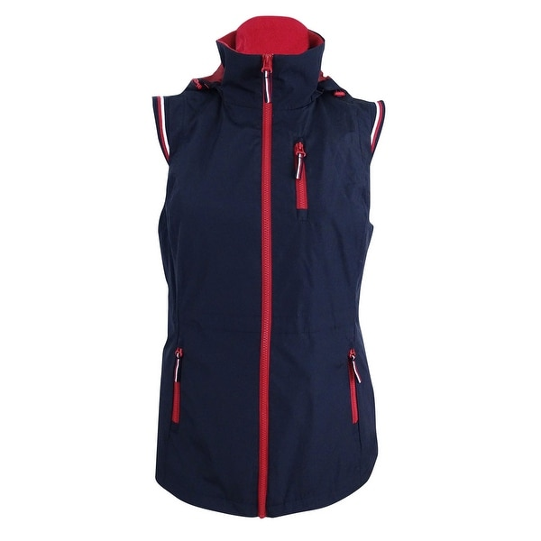 e26fab91a Shop Tommy Hilfiger Women's Plus Size Hooded Arctic Vest (0X, Sky Captain  Combo) - sky captain combo - 0X - Free Shipping Today - Overstock - 23601021