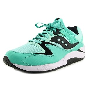 Saucony Grid 9000 Men  Round Toe Synthetic Green Sneakers