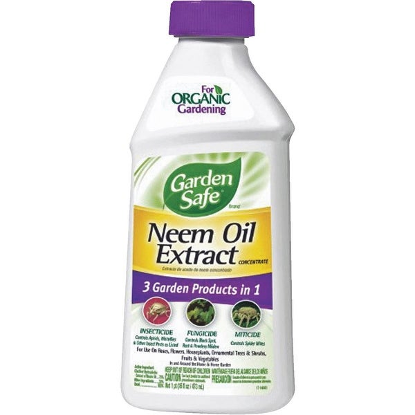 Garden Safe 16 Oz Conc Neem Oil